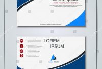 Modern Business Card Design Templates Awesome Modern Geometric Style Business Visiting Card Backgrounds