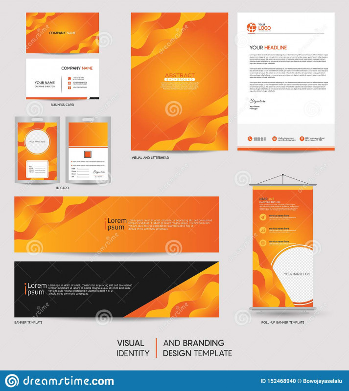 Modern Business Card Design Templates Awesome Modern Stationery Mock Up Set And Visual Brand Identity With