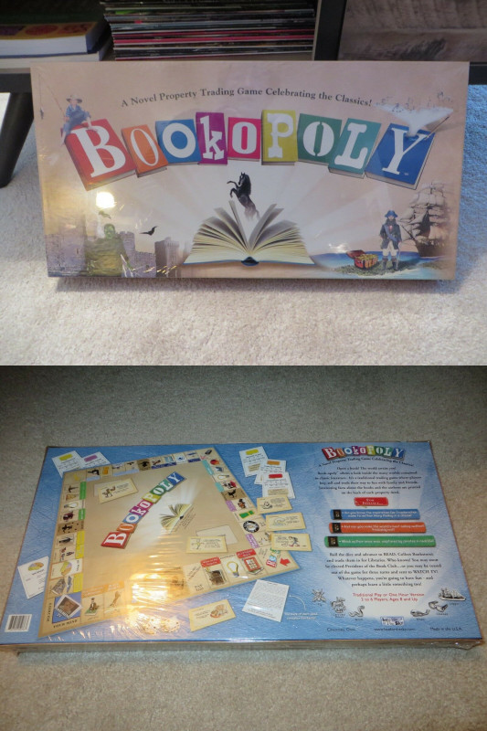 Monopoly Property Card Template Awesome Bookopoly Monopoly Board Game Factory Sealed New