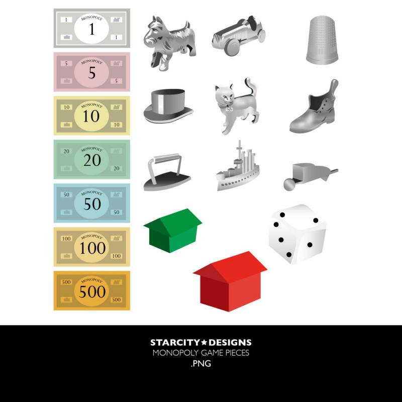 Monopoly Property Card Template Unique Monopoly Clip Art Clipart Monopoly Theme Auction Themes