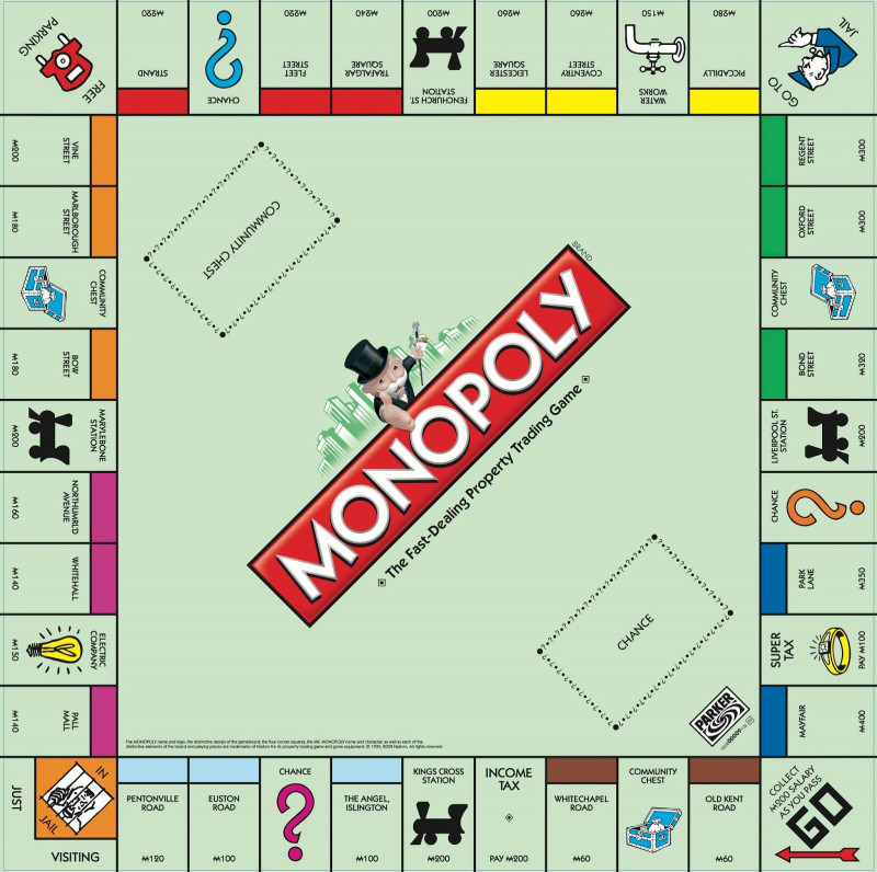 Monopoly Property Cards Template Awesome 1600x1594px Monopoly 348 85 Kb 289751