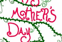 Mothers Day Card Templates Unique Mothers Day Card Drawing Free Download On Clipartmag