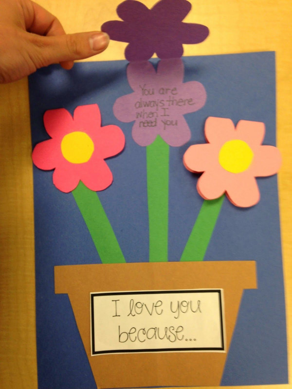 Mothers Day Card Templates Unique Mothers Day Mothers Day Diy Mothers Day Crafts for Kids