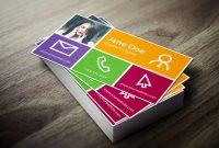 Name Card Photoshop Template New 18 Postcard Template Photoshop Ideas