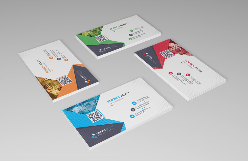 Name Card Template Psd Free Download Unique Corporate Business Card Download On Behance