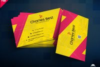 Photography Business Card Template Photoshop Awesome 150 Free Business Card Psd Templates