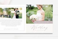 Photography Referral Card Templates Awesome Wedding Photography 5×5 Brochure Photography Marketing