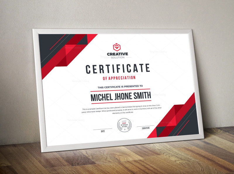 Photoshop Business Card Template With Bleed New Stylish Premium Certificate
