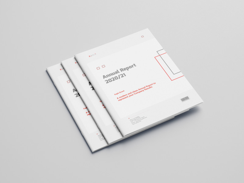 Photoshop Cs6 Business Card Template Unique Annual Report And Company Profile 28 Pages On Behance
