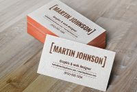 Plain Business Card Template Word Awesome Visitenkarte Mockup Bilder Kostenlos Drucken