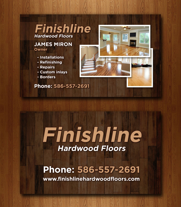 Playing Card Design Template New 14 Popular Hardwood Flooring Business Card Template Unique
