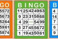 Playing Card Template Word Awesome How to Win Bingo 10 Steps with Pictures Wikihow
