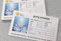Pledge Card Template for Church Unique Template Church Envelope Template Church Envelope Template