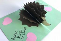 Pop Up Box Card Template Awesome Diy Pop Up Cards for Any Occasion