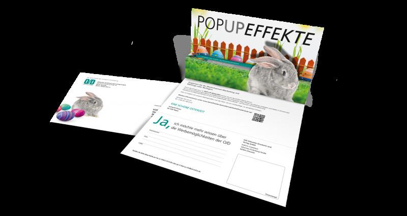 Popup Card Template Free Unique Selfmailer Ihre Printwerbung Ohne Briefumschlag Von O D