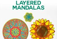 Printable Pop Up Card Templates Free Unique 3d Layered Mandalas How to Multilayer Mesmerize