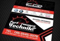 Psd Visiting Card Templates Awesome Modern Ma¤nnlich Car Repair Visitenkarten Design Fa¼r