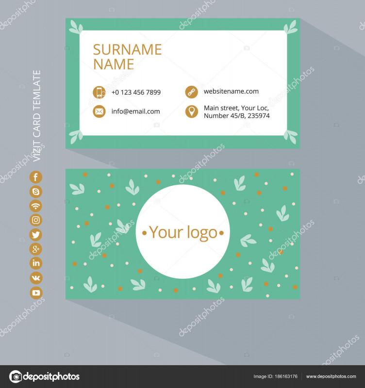 Qr Code Business Card Template Unique Visitenkarten Mit Social Media Icons Bilder Kostenlos Drucken