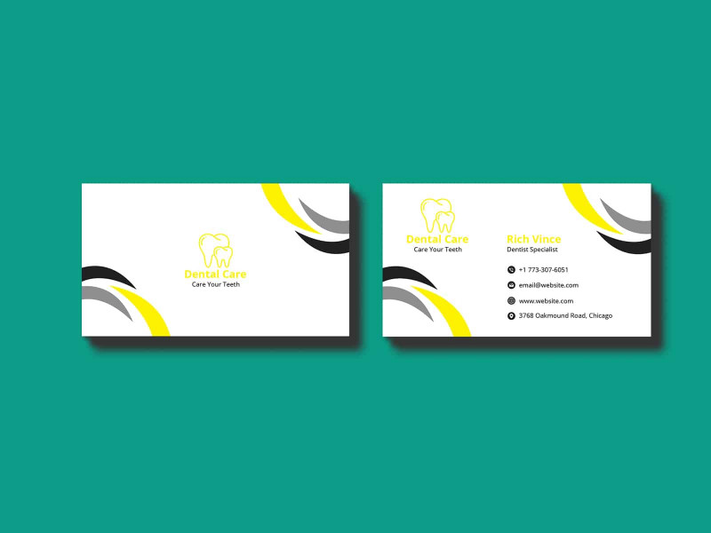 Real Estate Agent Business Card Template New Dentist Business Card Template