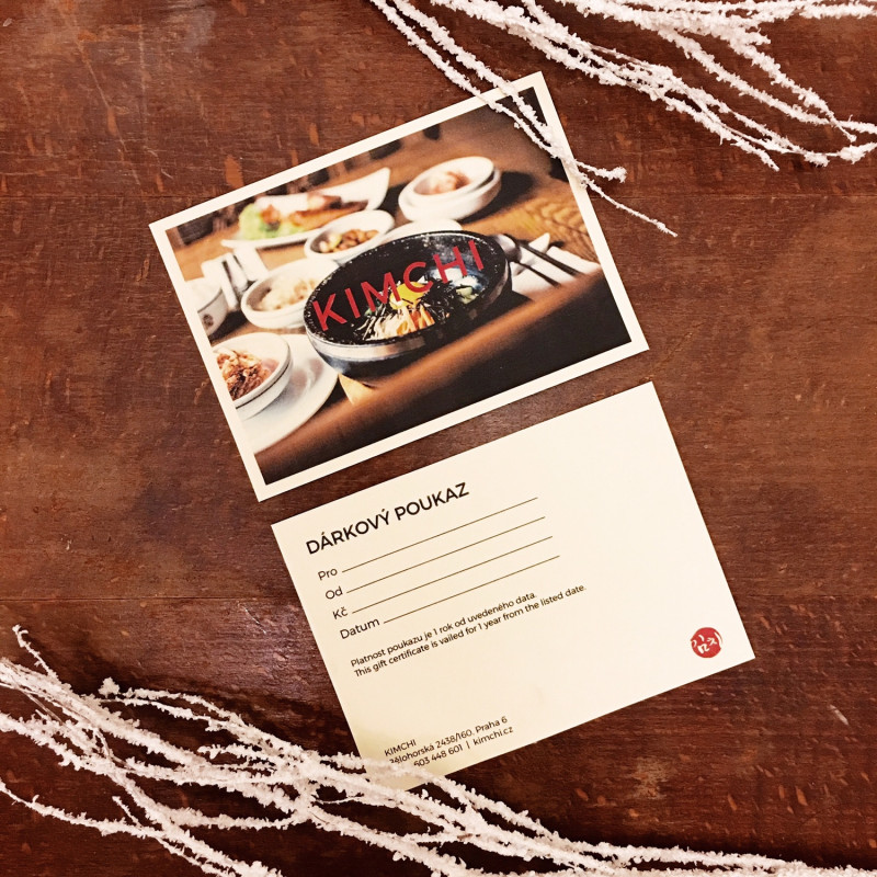 Recipe Card Design Template Unique Gift Cards now Available Kimchi