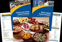 Restaurant Recipe Card Template New Spain Food Allergy Travel Bundle Paper