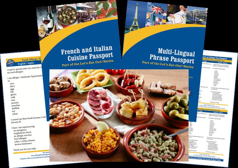 Restaurant Recipe Card Template New Spain Food Allergy Travel Bundle Paper