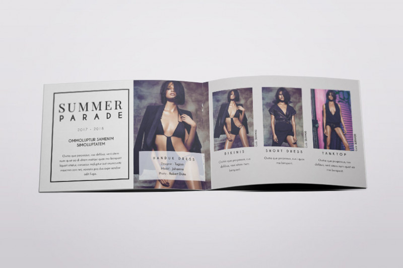 Reunion Invitation Card Templates Unique Dorothy A5 Fashion Lookbook Brochure Template By