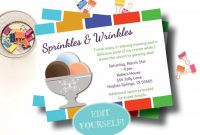 Rodan and Fields Business Card Template Unique Rodan and Fields Editable Party Invitation Ice Cream Launch Party Rodan Fields Invitation Instant Download Summer Launch Party