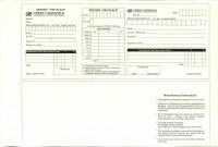 Sample Job Cards Templates Awesome 37 Bank Deposit Slip Templates Examples A… Templatelab