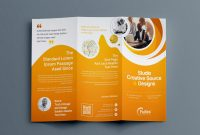 Sample Job Cards Templates Awesome Hypnosis Professional Tri Fold Brochure Template 001203