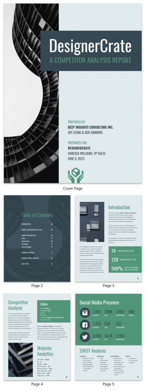 Sample Job Cards Templates Unique 19 Consulting Report Templates that Every Consultant Needs