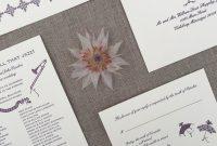 Sample Wedding Invitation Cards Templates Unique Foxy Winston Wedding Design