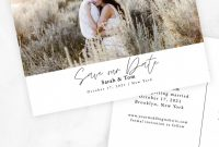 Save the Date Cards Templates New Editable Minimalist and Modern Photo Save the Date Card