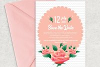 Save the Date Cards Templates New Save the Date Card Template by Designhub thehungryjpeg Com