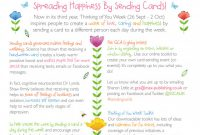 Small Greeting Card Template Unique Thinking Of You Week 26 Sept 2 Oct 2016 Gca the