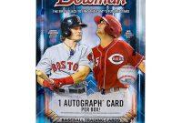 Soccer Trading Card Template New 2017 Bowman Baseball Hobby Box Da Card World