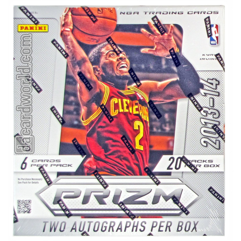 Soccer Trading Card Template Unique 2013 14 Panini Prizm Basketball Hobby Box Da Card World
