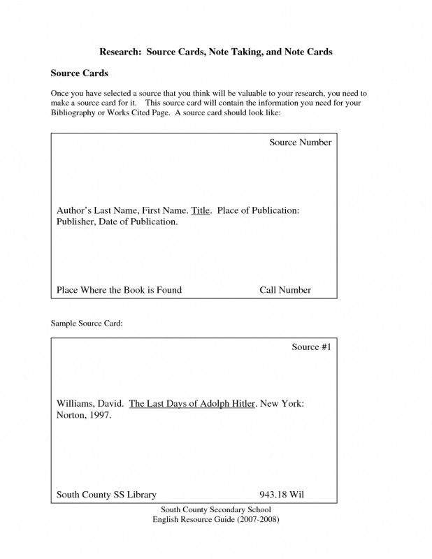 Ssn Card Template Unique formidable Note Cards Research Paper Mla format Museumlegs