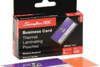 Staples Business Card Template Awesome Business Card Size Inches Business Card Laminating Pouches