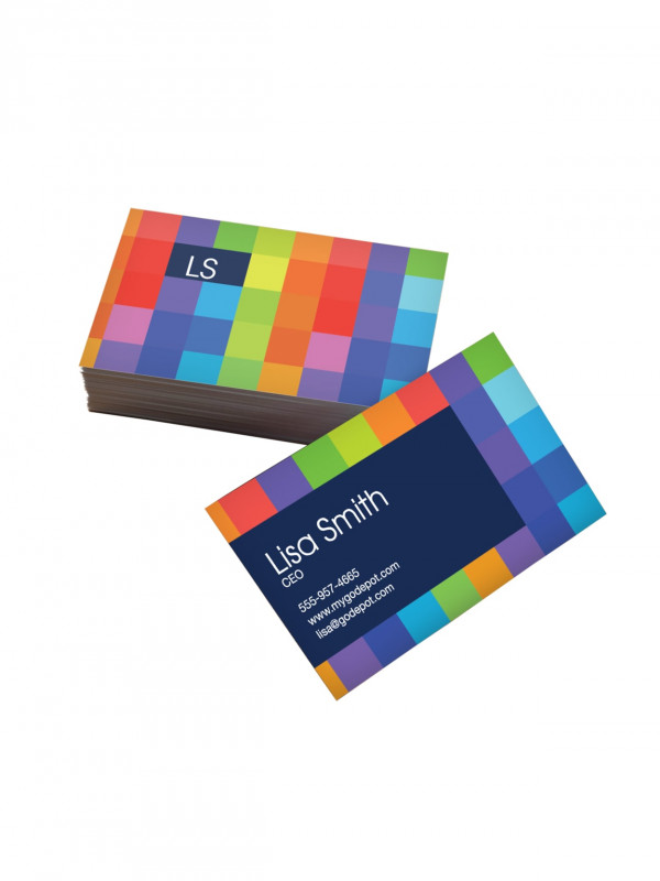 Staples Business Card Template Word New Custom Standard Business Cards 3 1 2 X 2 Box Of 250 Item 203070