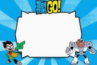 Superhero Birthday Card Template Unique Pin En Teen Titans