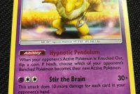Superhero Trading Card Template New Hypno 72 214 Sm Unbroken Bonds Reverse Holo Pokemon Card