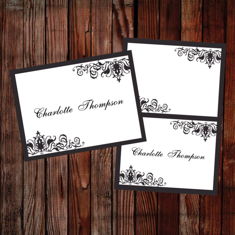 Table Place Card Template Free Download New A Personal Favourite From My Etsy Shop Https Www Etsy Com