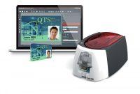 Teacher Id Card Template New Badge Printer Set Badgy100 Multi Office Depot