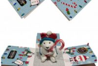 Teddy Bear Pop Up Card Template Free Unique Teddy Bear Christmas Explosion Box Explosion Box Cute