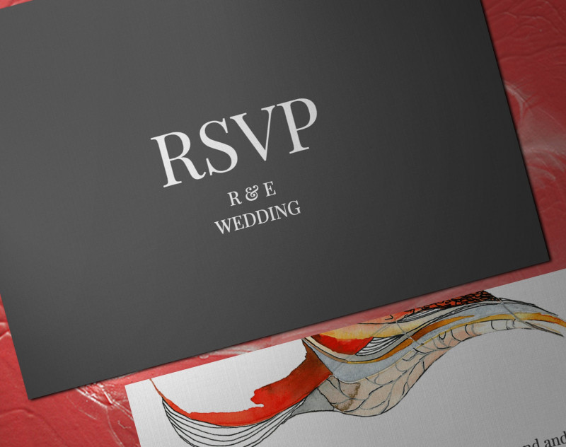 Template For Rsvp Cards For Wedding Unique Personalized Digital Wedding And Party Rsvp Card Abstract Theme Wedding Rsvp Cards Printable Digital Wedding Event Rsvp Card