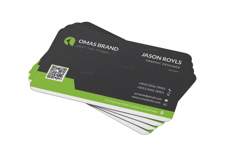 Template Name Card Psd New Pin On Business Cards