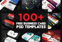 Templates for Visiting Cards Free Downloads New 150 Free Business Card Psd Templates