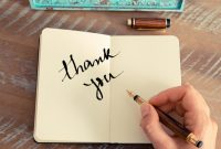 Thank You Note Cards Template Unique 6 Right Ways to Say Thank You In A Note