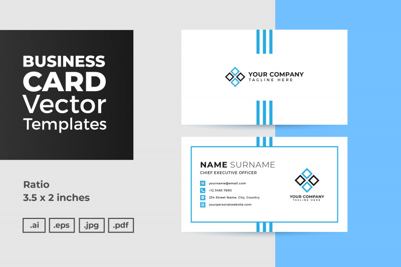Thanksgiving Place Card Templates Unique Business Card Vector Template